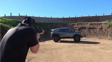 Is de Rezvani Tank echt bulletproof