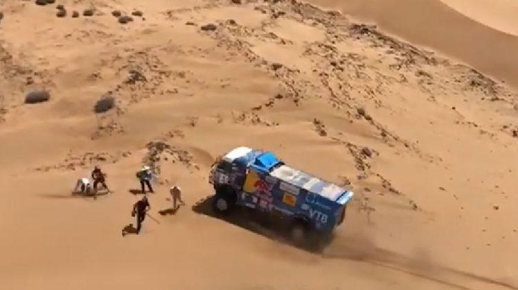 Kamaz-coureur Karginov uit Dakar Rally
