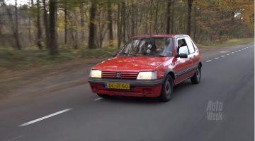 Klokje Rond - Peugeot 205 met 1 miljoen km op de teller