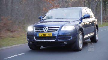 Klokje Rond - Volkswagen Touareg V10 met 576.086 km