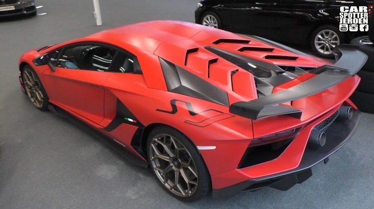 Lamborghini Aventador SVJ in Nederland