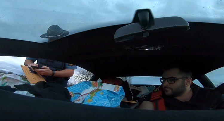 Lamborghini-bestuurder dubai-oregon