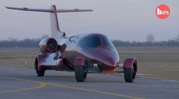 Learjet limousine