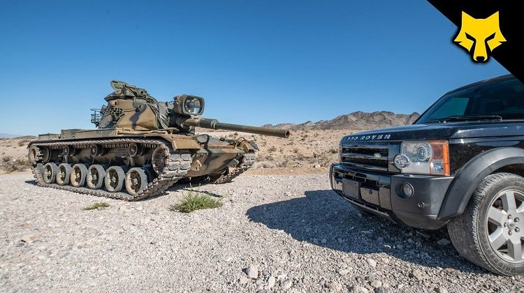 M60 Tank vs Land Rover Discovery