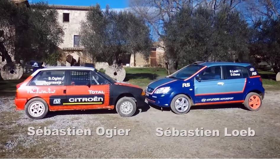 Ogier en Loeb testen nieuwe WRC-bolides