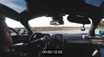Onboard beelden van Rosberg's hot laps in de McLaren Senna