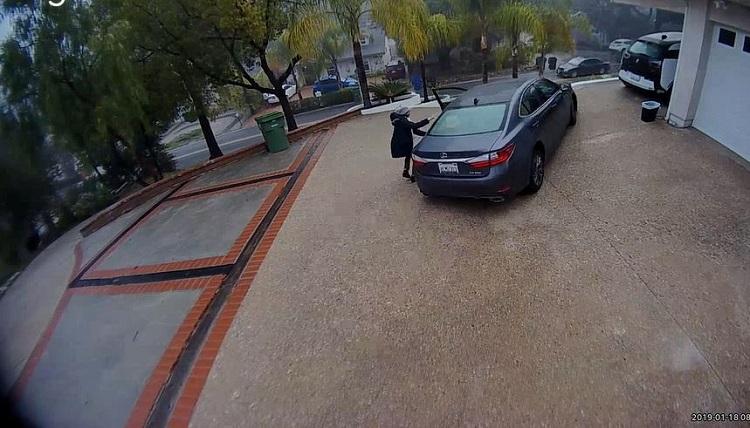 Parkeerstand Lexus