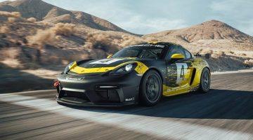 Porsche 718 Cayman GT4 Clubsport krijgt 425 pk