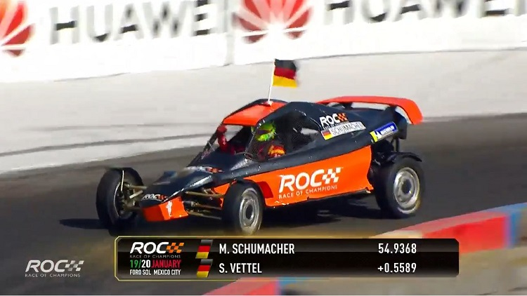 Race of Champions Vettel vs Schumacher