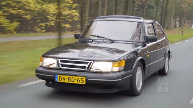 Saab 900 Klokje Rond