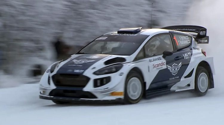 Valtteri Bottas over zijn rallydebuut in een Ford Fiesta WRC