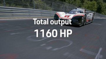 Vijf feitjes over Porsche 919 Hybrid Evo