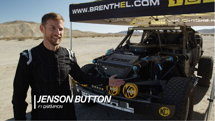 Jenson Button gaat off-road racen