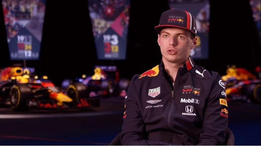 Max Verstappen blikt vooruit op Formule 1 2019