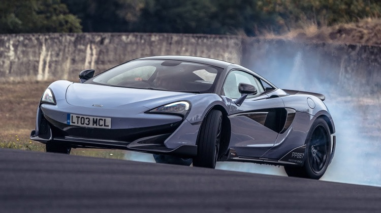 McLaren 600LT Chris Harris