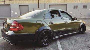 Mercedes-Benz E55 AMG Driftauto