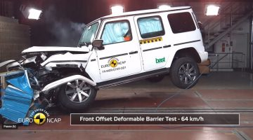 Mercedes-Benz G-Klasse Crashtest