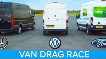 Mercedes Sprinter vs Ford Transit vs VW Crafter