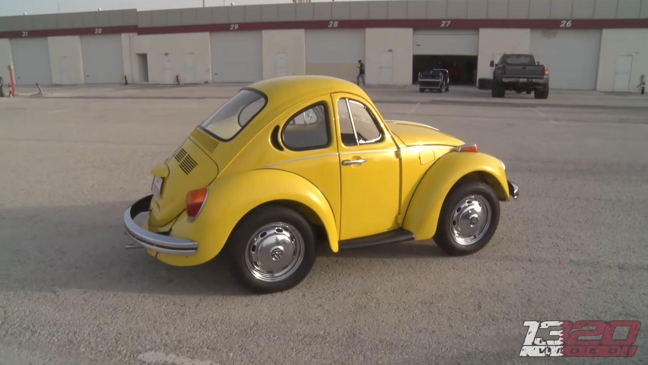 Volkswagen Kever is te heet gewassen