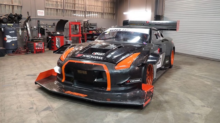 1.200 pk Nissan GT-R Time Attack