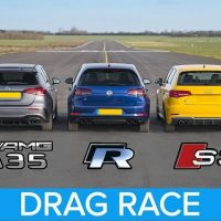 AMG A35 vs M140i vs Golf R vs Audi S3 vs Focus RS