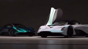 Aston Martin AM-RB 003 en Vanquish Vision Concept onthuld