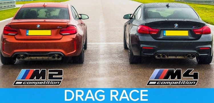 BMW M2 Competition vs BMW M4 Competition