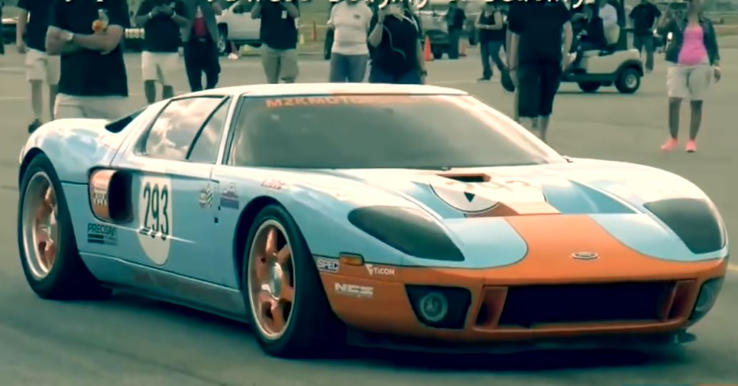 M2K Motorsports Ford GT klokt 482 kmh
