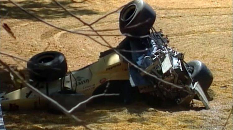 Martin Brundle's enorme crash tijdens de 1996 Australian GP