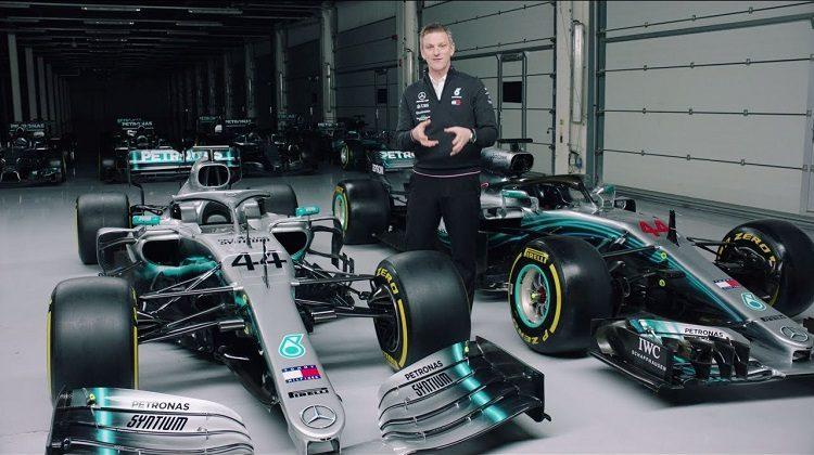 Mercedes laat verschil zien tussen 2018 en 2019 F1-bolide