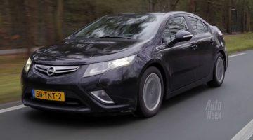 Opel Ampera met 311.848 kilometer op de teller