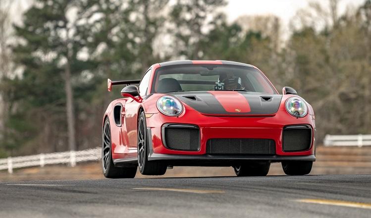Porsche 911 GT2 RS zet baanrecord neer op Road Atlanta