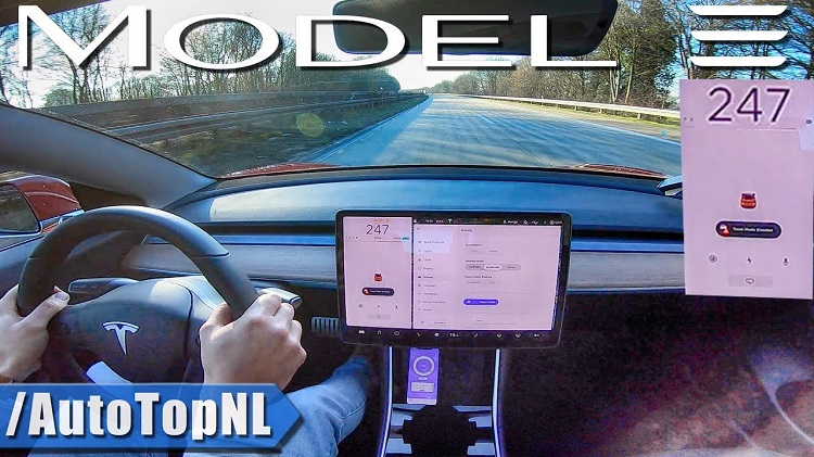 Tesla Model 3 Performance topsnelheid