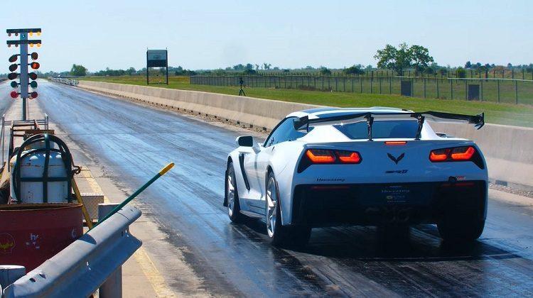 1.000 pk Hennessey Corvette ZR1 is een 9 sec car