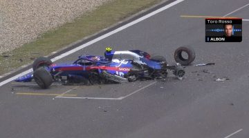 Alexander Albon Crash FP3 China
