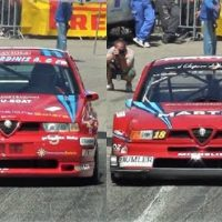 Alfa Romeo 155 GTA vs Alfa Romeo 155 DTM