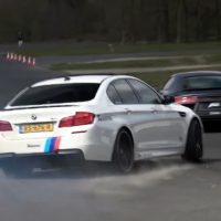 BMW F10 M5 vs ABT Audi R8 V10