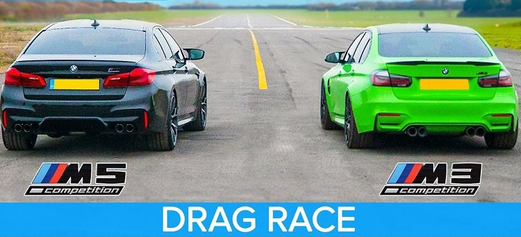 BMW M3 Competition vs BMW M5 Competition