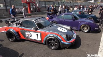 Europese Rauh-Welt Begriff Porsches