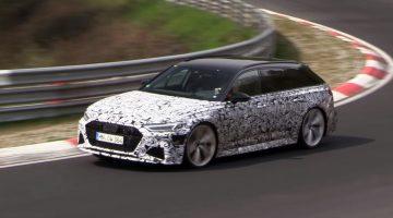 Nieuwe Audi RS6 C8 gespot op de Nürburgring