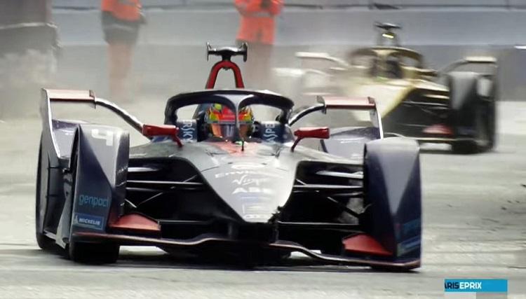 Robin Frijns wint eerste race in Formule E