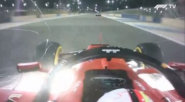 Spin Vettel na duel Hamilton