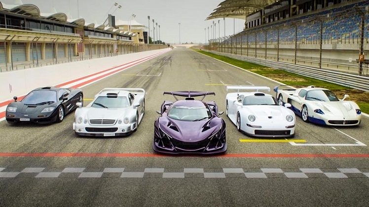 Waanzinnige hypercars bij Supercars Club Arabia