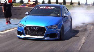 snelste Audi RS3 Sedan ter wereld