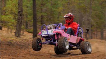 50 pk sterke Barbie Jeep