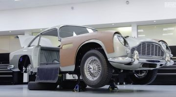 Aston Martin gaat 25 DB5 Bond-auto's bouwen