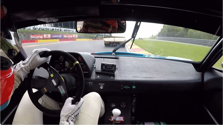 BMW M1 Procar pole Spa Classic