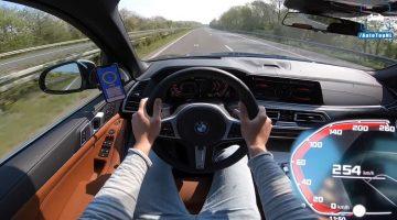 BMW X5 M50D Topsnelheid