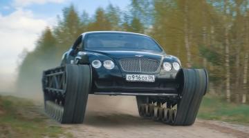 Bentley Continental GT rupsbanden