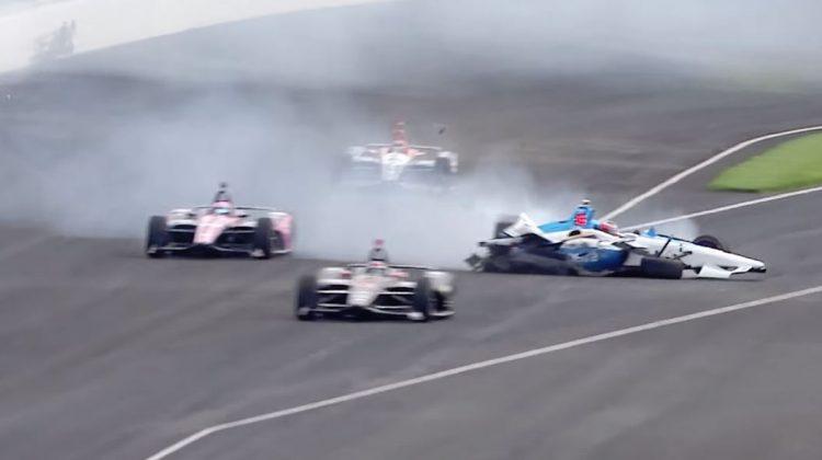 Felix Rosenqvist crasht tijdens Indy 500 training